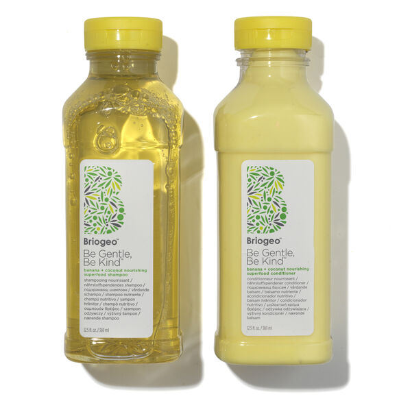 Banana + Coconut Nourishing Shampoo + Conditioner Duo for Dry Hair, , large, image_1