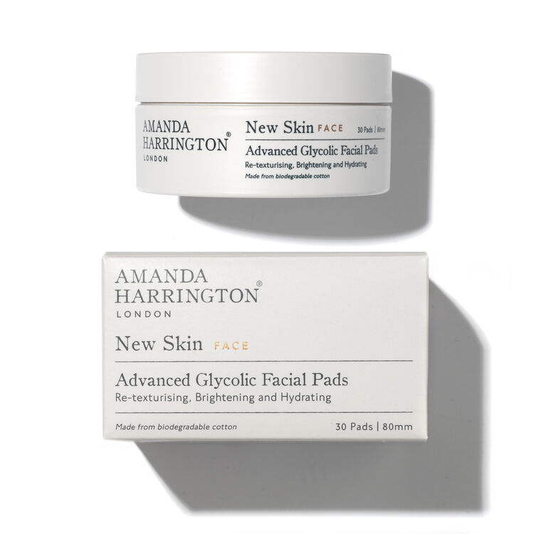 New Skin Advanced Glycolic Facial Pads, , large