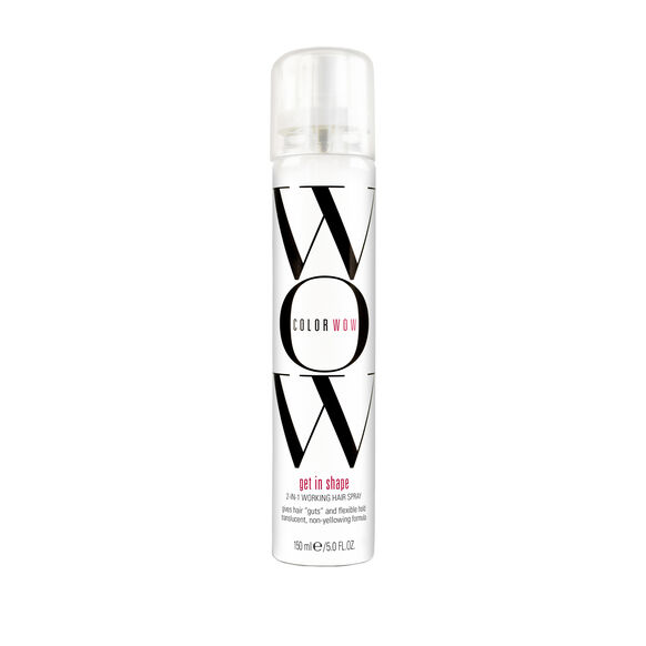 Get in Shape 2-In-1 Working Hair Spray, , large, image1