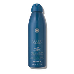 Organic Sheer Sunscreen Mist SPF 30, , large