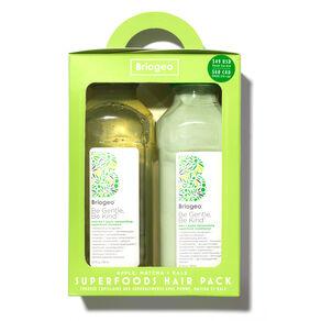 Apple, Matcha & Kale Superfoods Hair Pack, , large