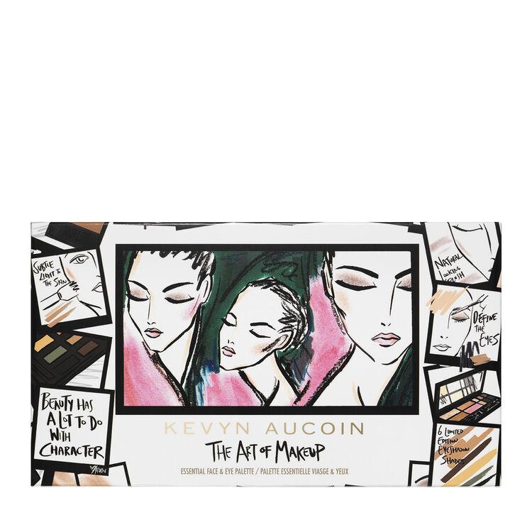 kevyn aucoin the art of makeup essential eye cheek palette