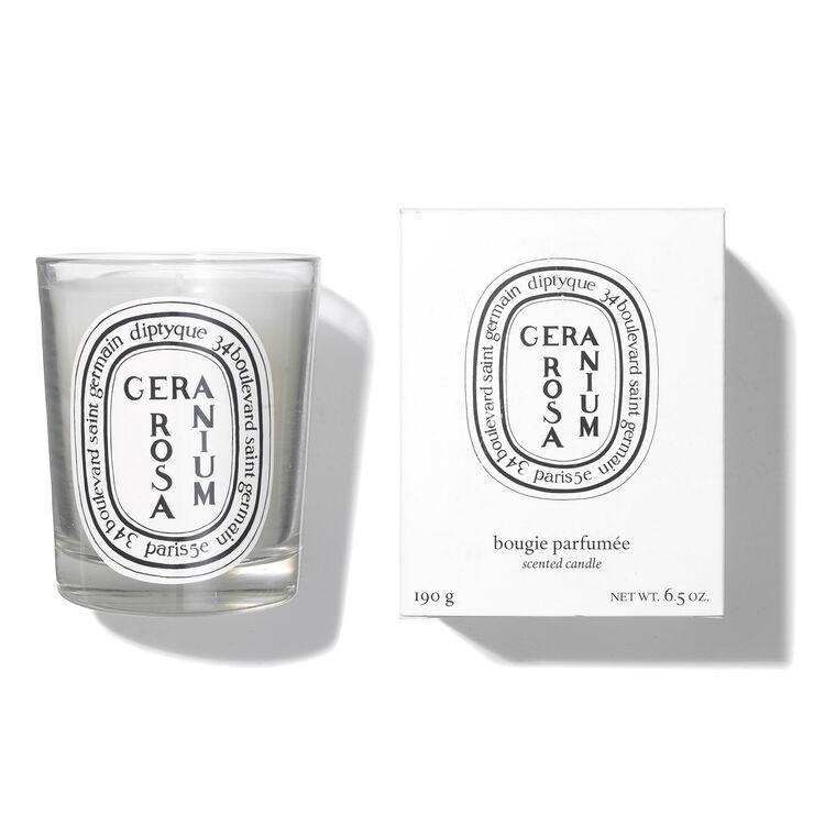 Geranium Rosa Scented Candle 6.7oz, , large
