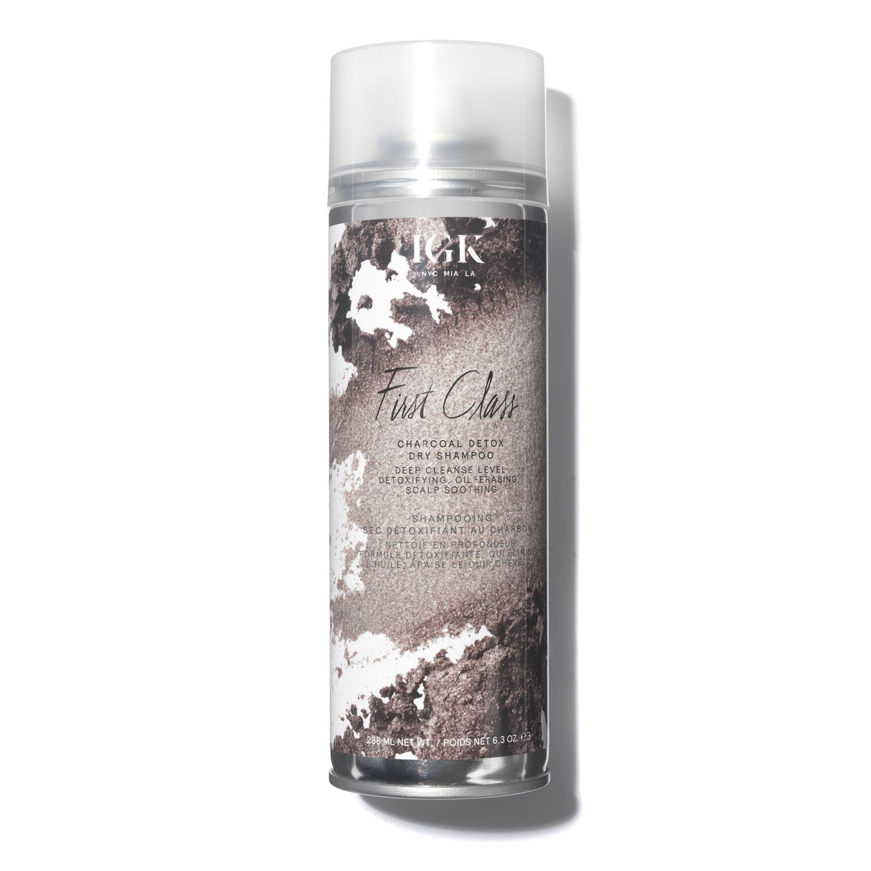 IGK | First Class Charcoal Detox Dry Shampoo