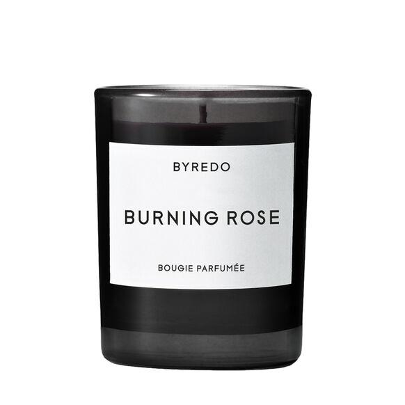 Burning Rose Mini Candle, , large, image1