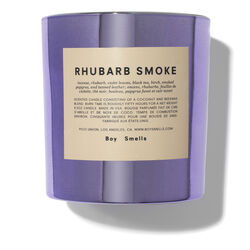 Rhubarb Smoke Candle, , large