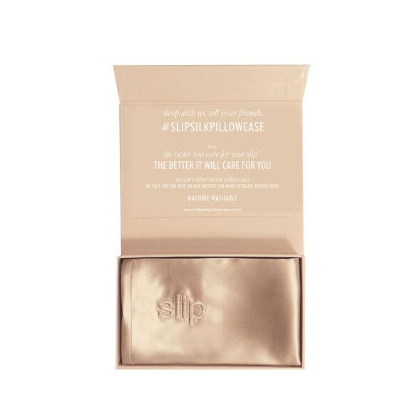 Silk Pillowcase - Queen Standard, CARAMEL, large, image2