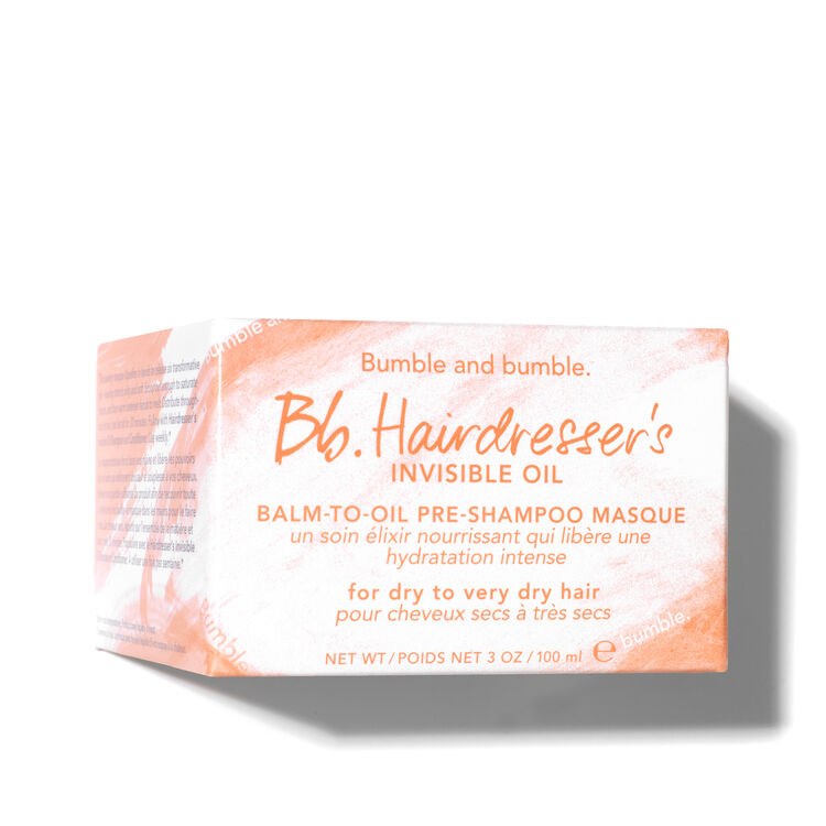Hairdresser's Invisible Oil Balm-to-Oil Pre-Shampoo Masque, , large