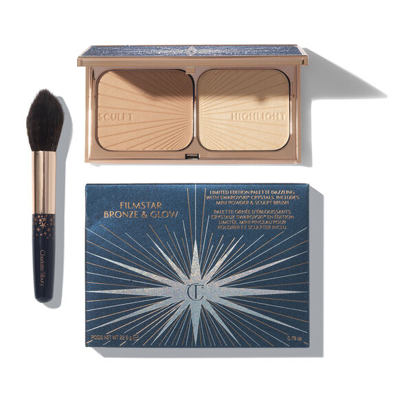 Limited Edition Filmstar Bronze And Glow Set, , large, image_1