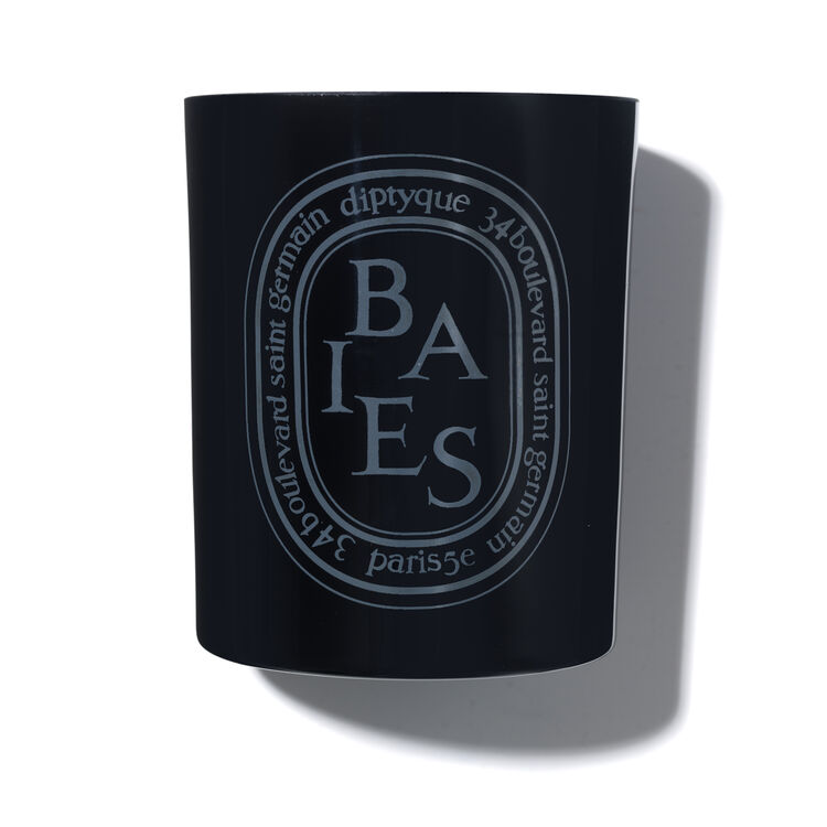 Baies Coloured Candle, , large