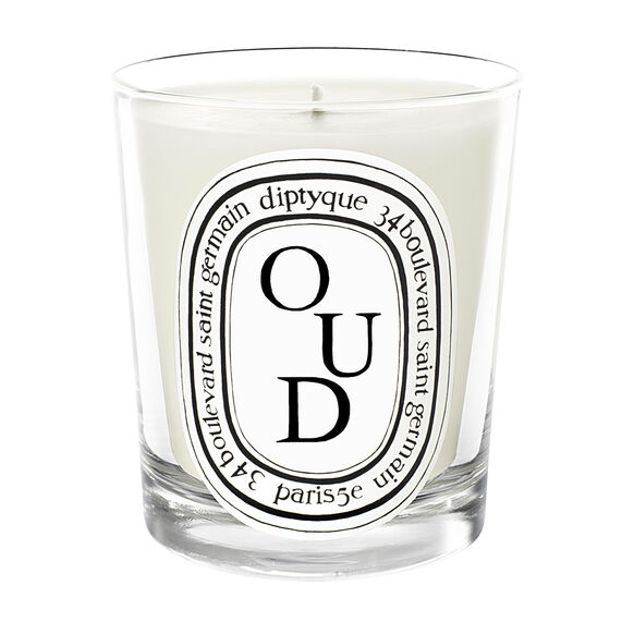 Oud Scented Candle, , large, image1