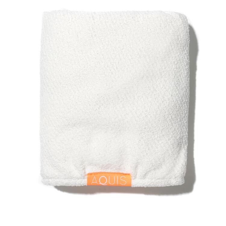 Hair Turban Lisse Luxe - White, WHITE, large