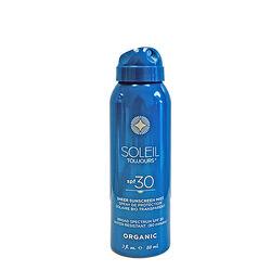 Organic Sheer Sunscreen Mist SPF30 Travel Size, , large