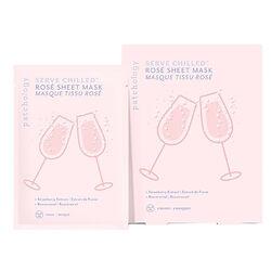 Serve Chilled Rosé Sheet Mask, , large