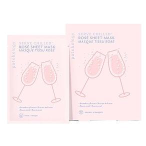 Serve Chilled Rosé Sheet Mask