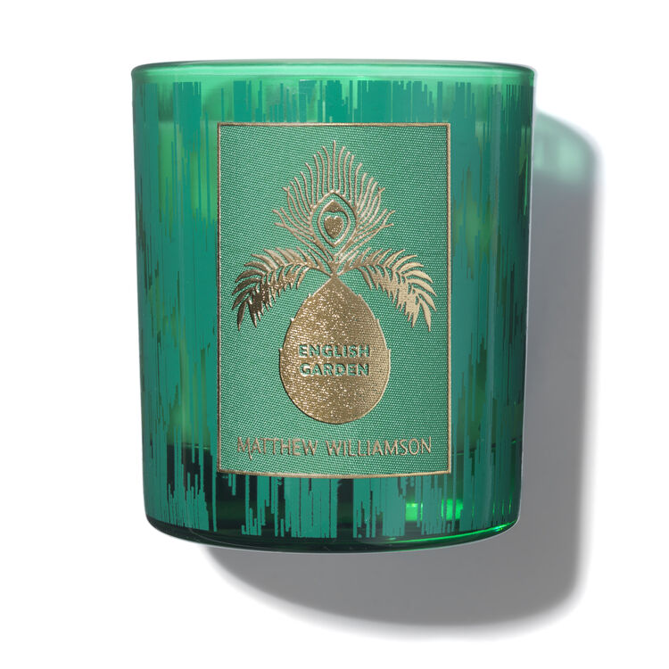 English Garden Scented Candle 200g, , large