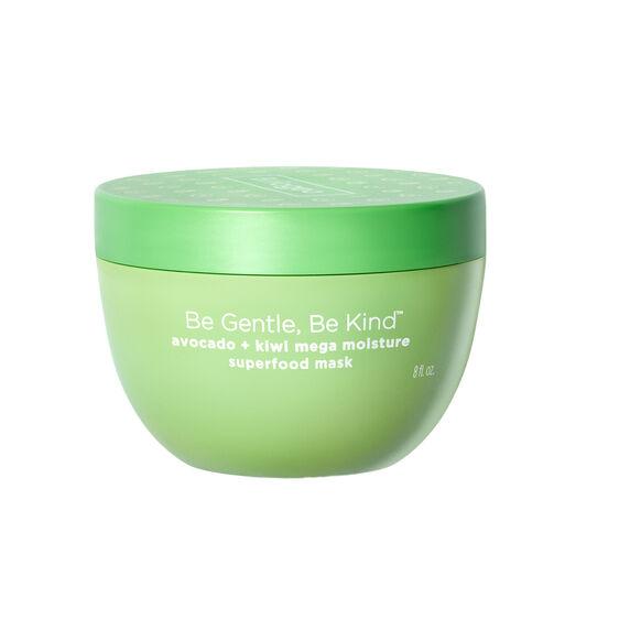 Be Gentle, Be Kind Avocado + Kiwi Mega Moisture Superfood Mask, , large, image1