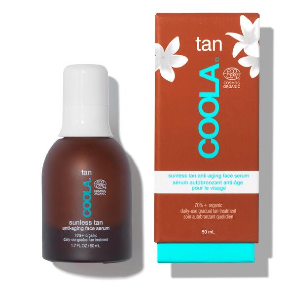 Sunless Tan Anti-Aging Face Serum, , large, image4
