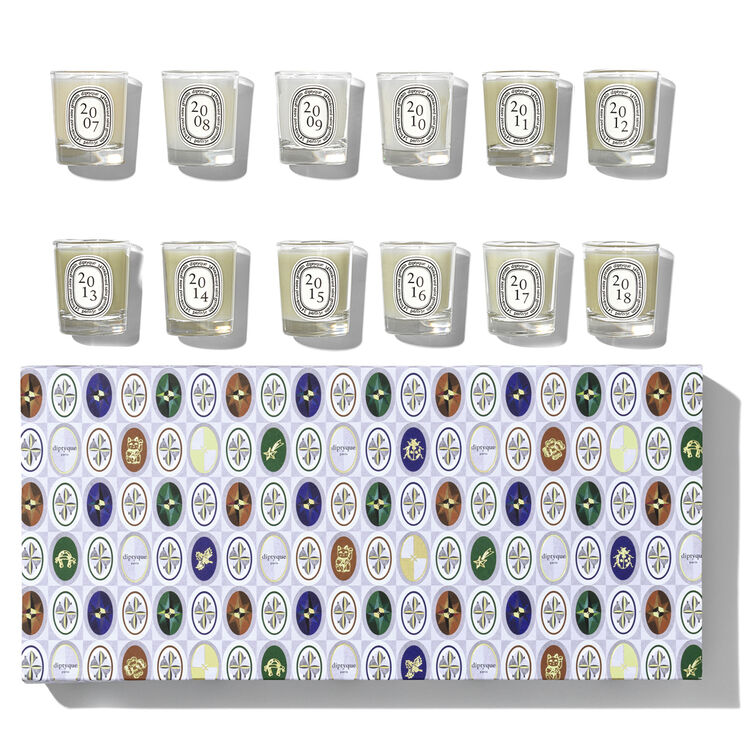 Set 12 Mini Candles of Pine Scents, , large