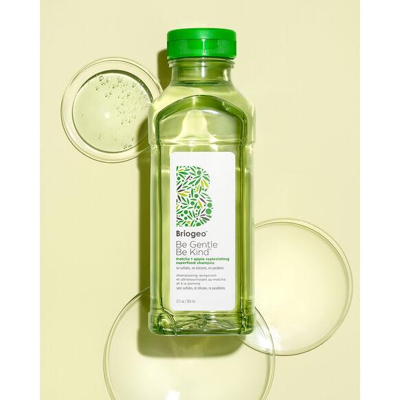 Be Gentle, Be Kind Matcha + Apple Replenishing Superfood Shampoo, , large, image3
