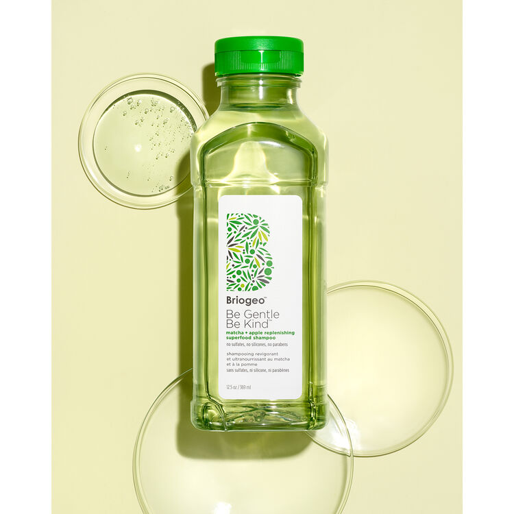 Be Gentle, Be Kind Matcha + Apple Replenishing Superfood Shampoo, , large