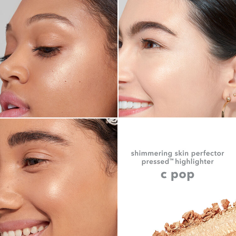 Shimmering Skin Perfector Pressed Highlighter, CHAMPAGNE POP, large