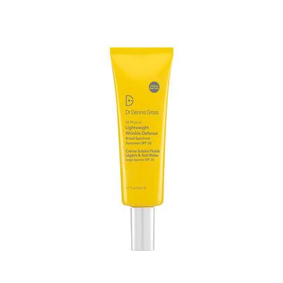 All-Physical Lightweight Wrinkle Defense Broad Spectrum Sunscreen SPF 30