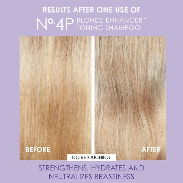 No. 4P Blonde Enhancer Toning Shampoo, , large, image6