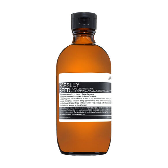 Parsley Seed Facial Cleansing Oil 200ml, , large, image1
