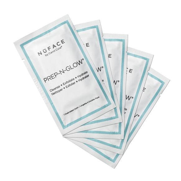Prep-N-Glow™ Cleansing & Exfoliating Cloths 5-Pack, , large, image1