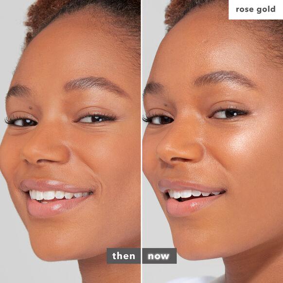 Shimmering Skin Perfector Pressed Highlighter, ROSE GOLD, large, image4