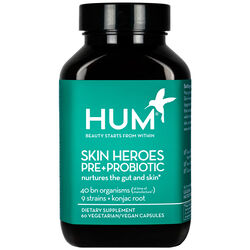 Skin Heroes Pre + Probiotic Clear Skin Supplement, , large