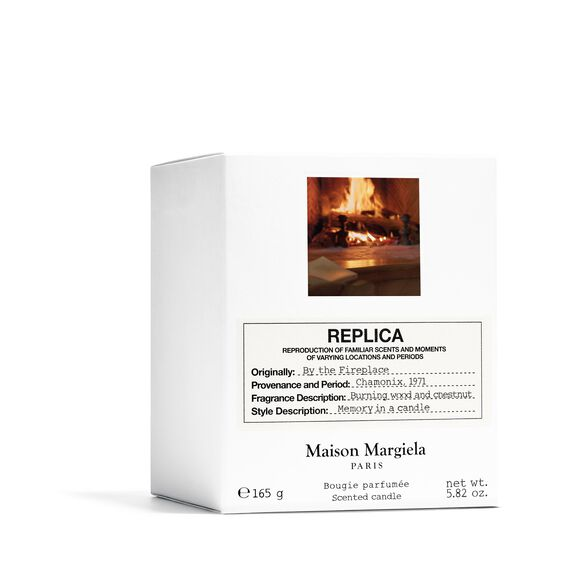 By the Fireplace Candle, , large, image2