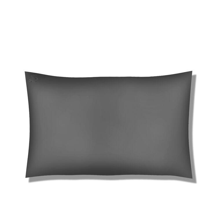 Silk Pillowcase - Queen Standard, CHARCOAL, large