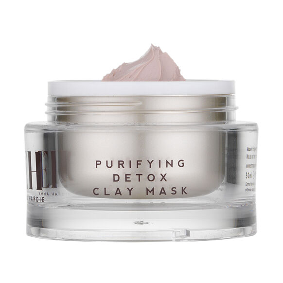 Purifying Detox Clay Mask With Dual Action Cleansing Cloth, , large, image2
