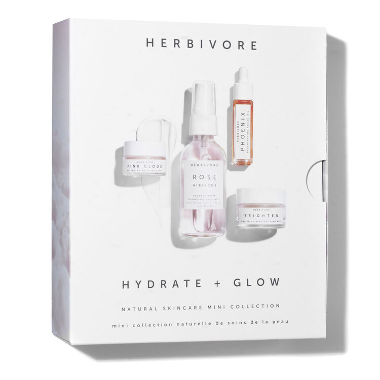 Hydrate & Glow Natural Skincare Mini Collection, , large