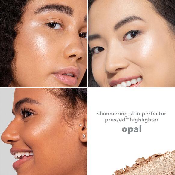 Shimmering Skin Perfector Pressed Highlighter, OPAL, large, image5