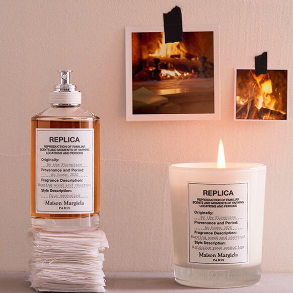 By the Fireplace Candle, , large, image4