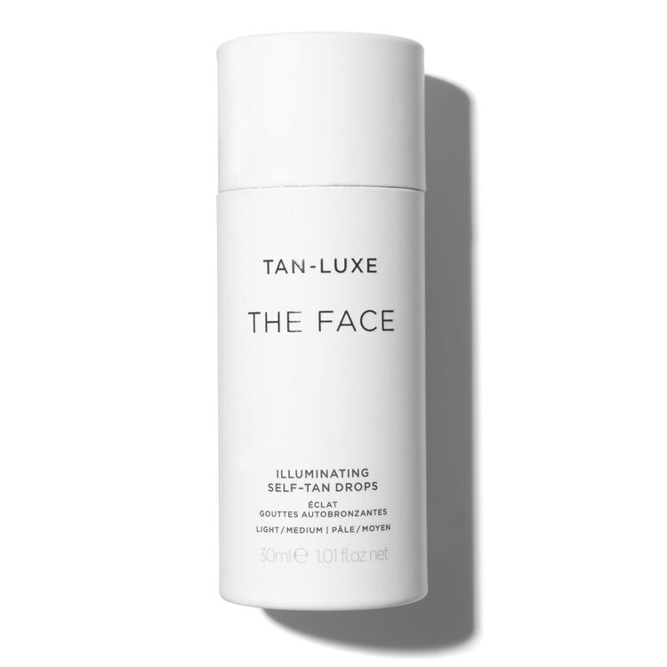 The Face Illuminating Tan Drops, LIGHT/MEDIUM 30ML, large
