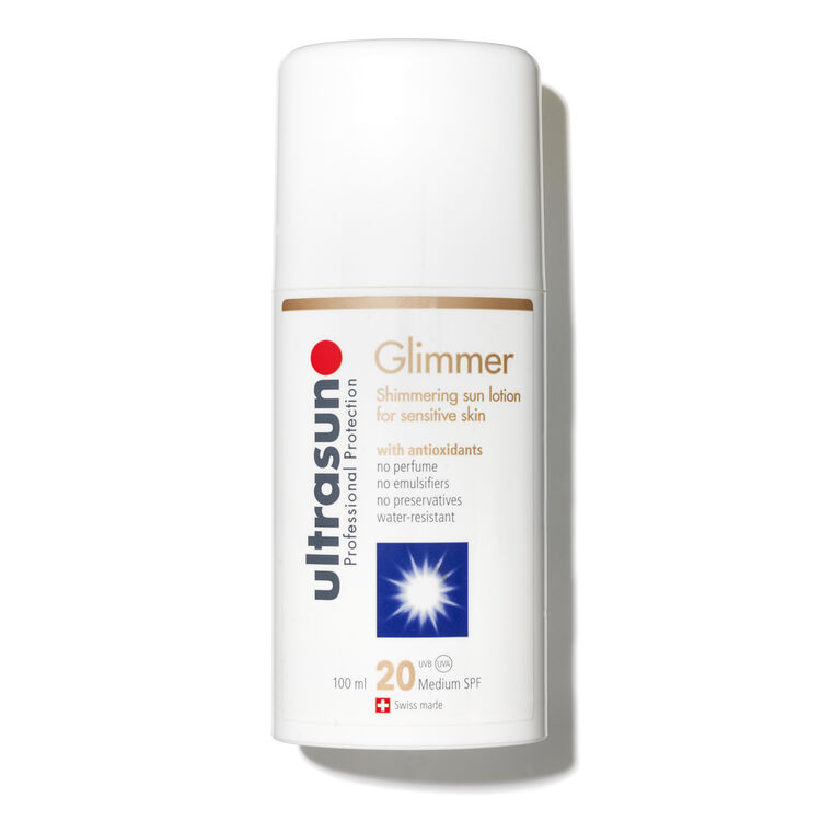 Ultrasun Medium SPF 20 Glimmer Sensitive, , large