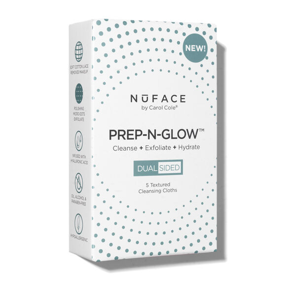 Prep-N-Glow™ Cleansing & Exfoliating Cloths 5-Pack, , large, image3