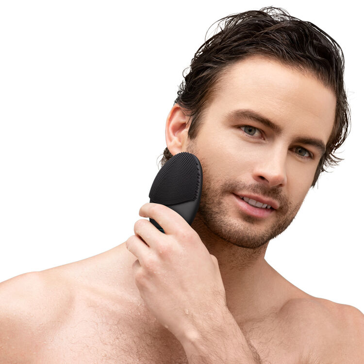 Luna 3 Facial Cleansing Brush for Men, , large