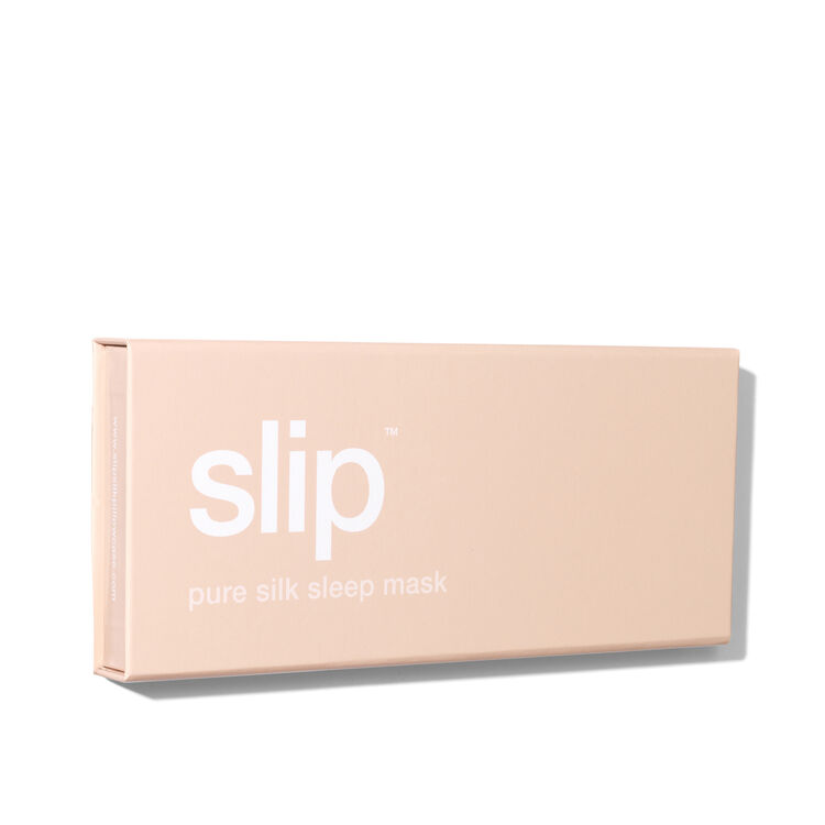 Silk Sleep Mask, CARAMEL, large