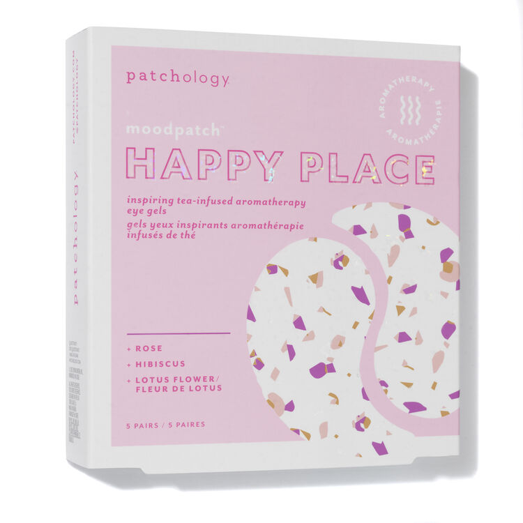 """Moodpatch """"Happy Place"""" Inspiring Tea-Infused Aromatherapy Eye Gels, , large"""