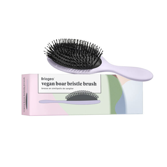 Vegan Boar Bristle Hair Brush, , large, image3