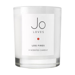 Log Fires A Scented Candle, , large