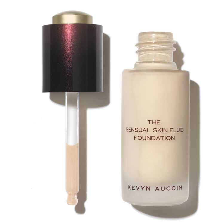 The Sensual Skin Fluid Foundation, , large