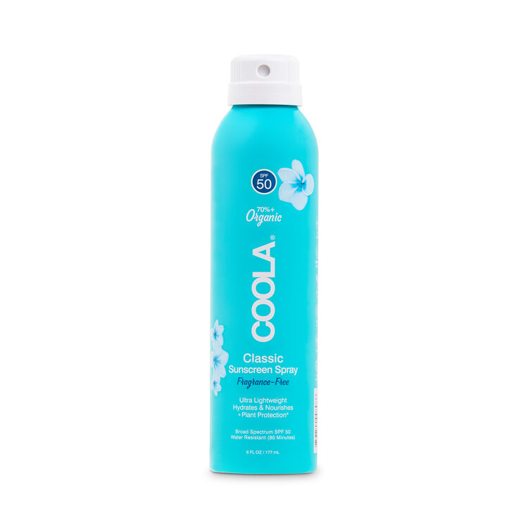 Classic Body Organic Sunscreen Spray SPF 50 Fragrance, , large