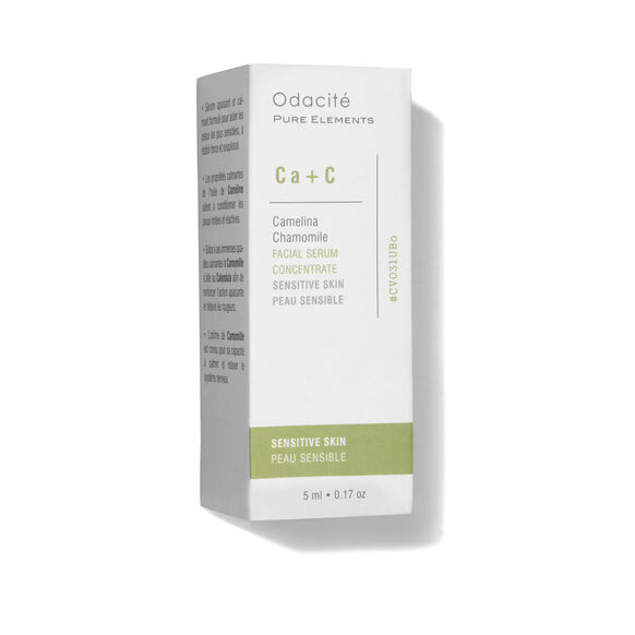 Ca+C Sensitive Skin Serum Concentrate (Camelina + Chamomille), , large, image4