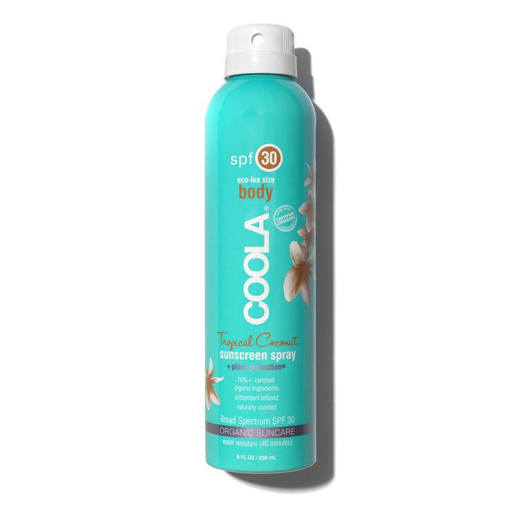 SPF30 Tropical Coconut Sunscreen Spray, , large
